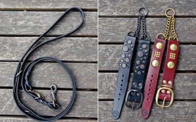 Ruthless Leather update #16 | strong leather dog collars