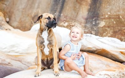 Cooma and her family | Sydney Dog Photography